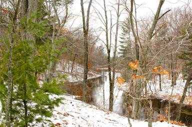 Four Mile Creek.  Vacant Land in Michigan. Hunting Land for sale, Development property, Lakefont property