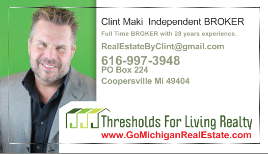 Clint Maki, Local Real Estate Expert, Realtor,Local Realtor,Vacation Property, Michigan Realtor,